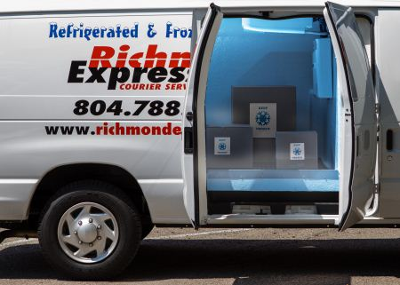 Refrigerated and Frozen Van Service