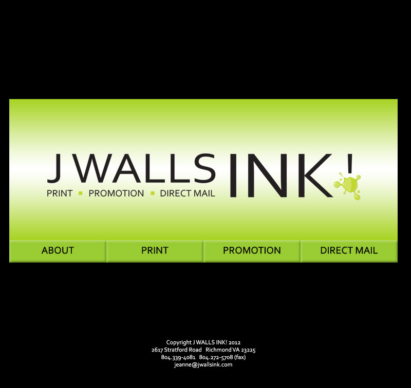 J Walls Ink! Logo