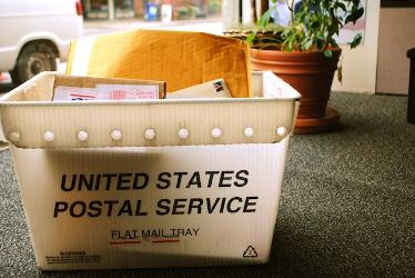 We can pick up your mail at your local post office