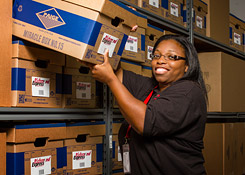 Warehousing and delivery service of your stored goods